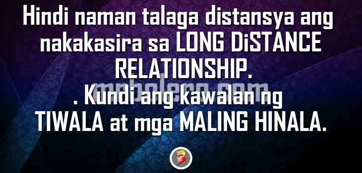 Tagalog Long Distance Relationship Love Quotes