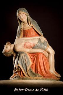 Bressuire : Le pas de la Vierge, Notre-Dame de Pitié