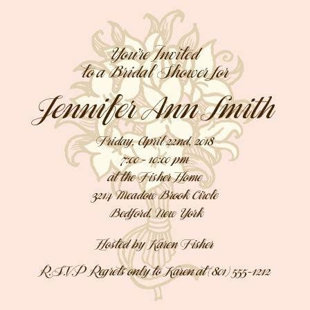 Bridal Shower Invitations & Wedding Shower Invitations