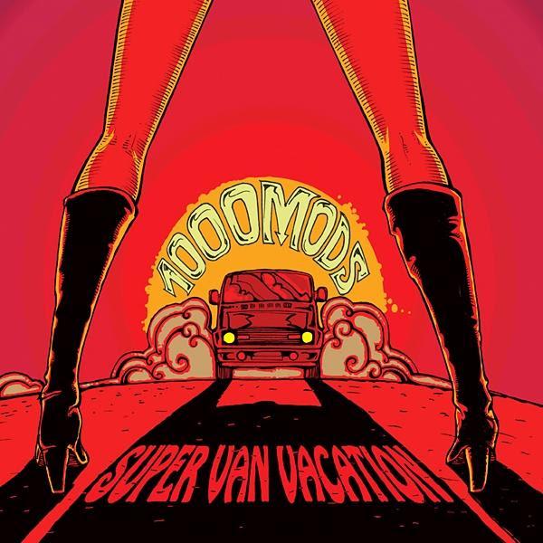 1000mods - Super Van Vacation Album Cover