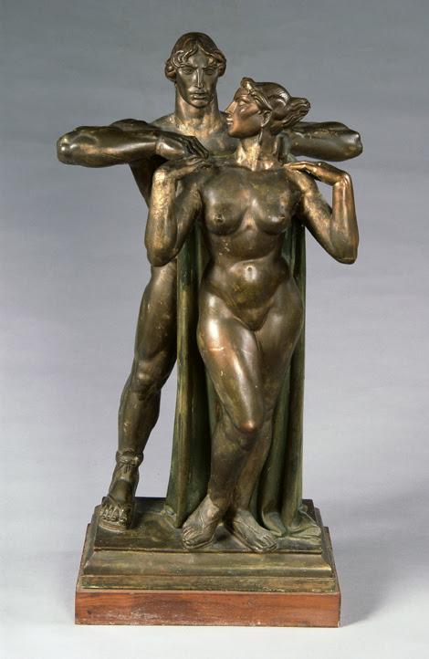 "Bronze, 27""x15"", 1948"