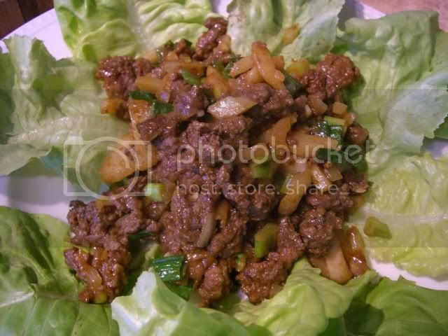 Amateur Asian ground beef
