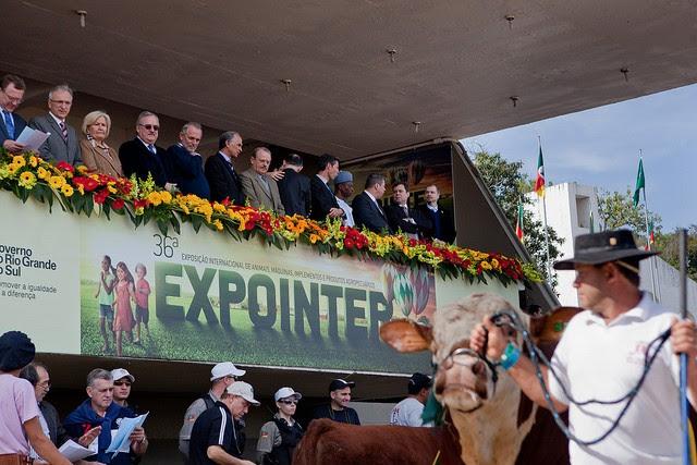 Inauguração oficial da Expointer 2013 (Foto: Camila Domingues/Palácio Piratini)