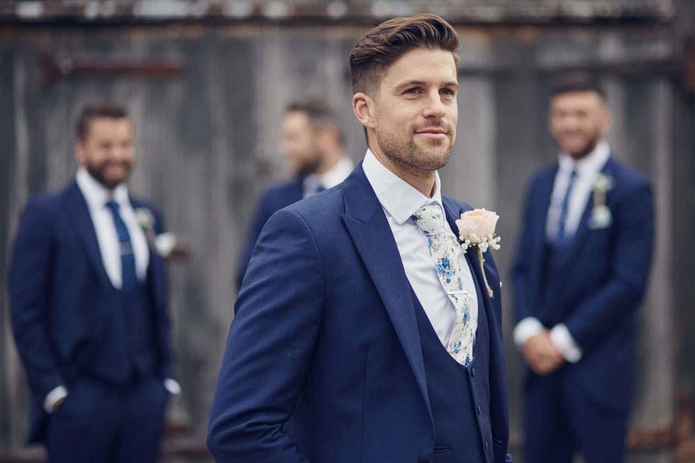 Wedding boys, groom and ushers. Catalogue style photo - www.helloromance.co.uk