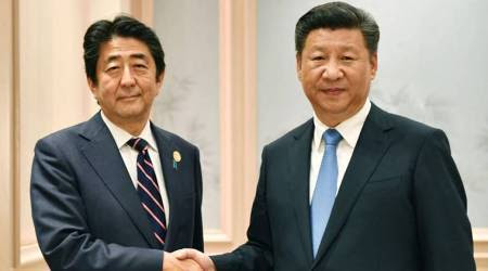 Japan, China, Japan-China relations, Xi Jinping, shinzo Abe, new silk road summit, world news, indian express news