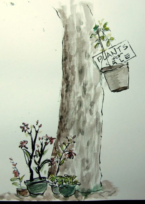 Sketch by Lauren Villarama