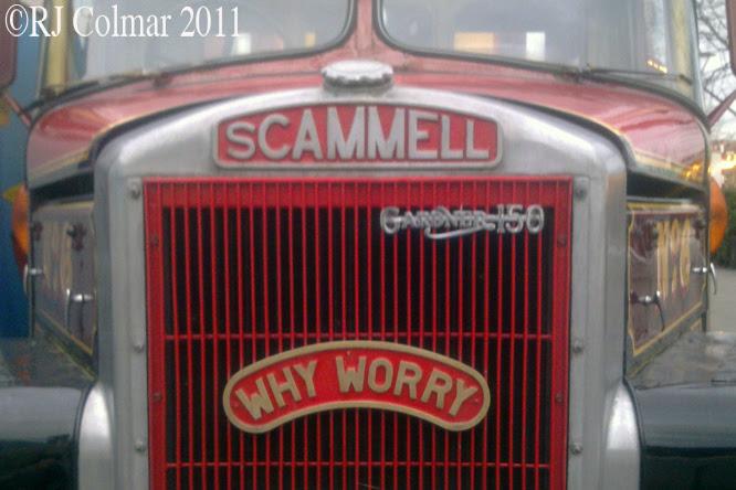 Scammell Highwayman, 1961