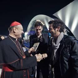 """Il cardinale Ravasi e il gruppo rock """"The Sun"""""""