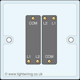 2 Gang 2 Way Light Switch Light Wiring