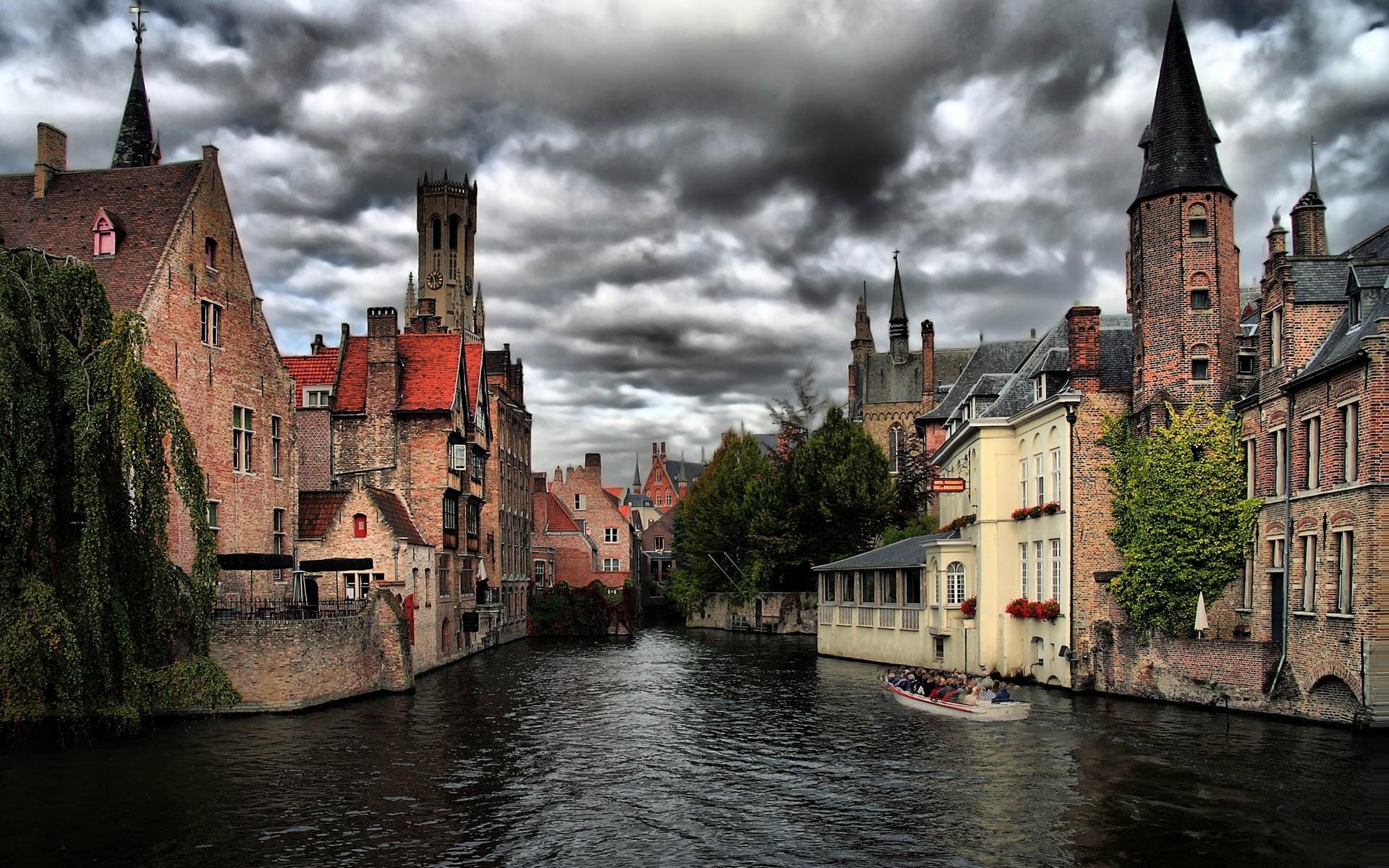 Bruges, Belgium [1920 × 1200]