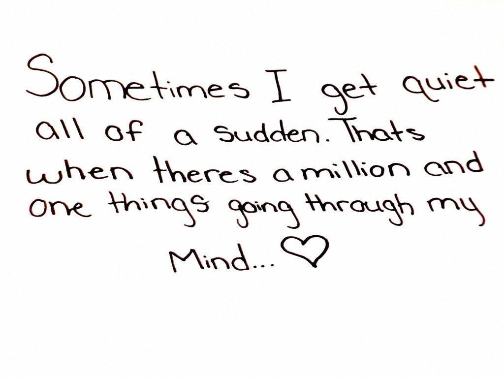 Cute Heart Mind Quotes Image 127276 On Favimcom
