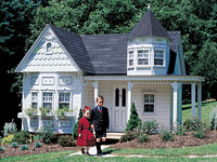A very fancy playhouse