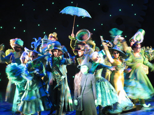 Elphaba and Crowd