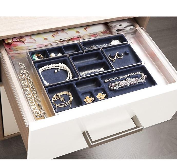 Bed Bath Beyond Expandable Jewelry Drawer Organizer ...