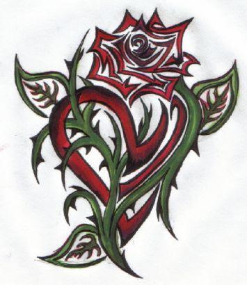 Celtic Heart Tattoo Pics