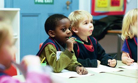 Nursery schoolchildren