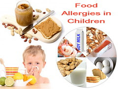 Common food allergies in children