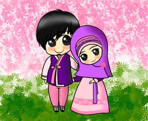 gambar images  wallpaper kartun sc gambar muslim