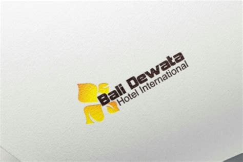 contoh desain logo hotel bali bursadesaincom
