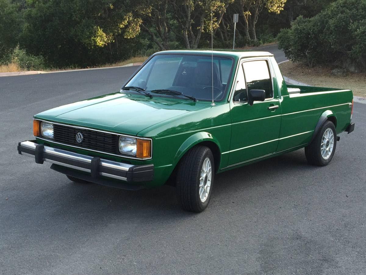 1982 Volkswagen Rabbit V4 Manual Pickup Truck For Sale Napa County Ca
