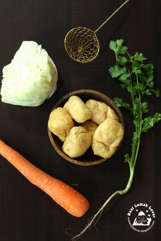 Deep fried tofu puff_ingredients copy