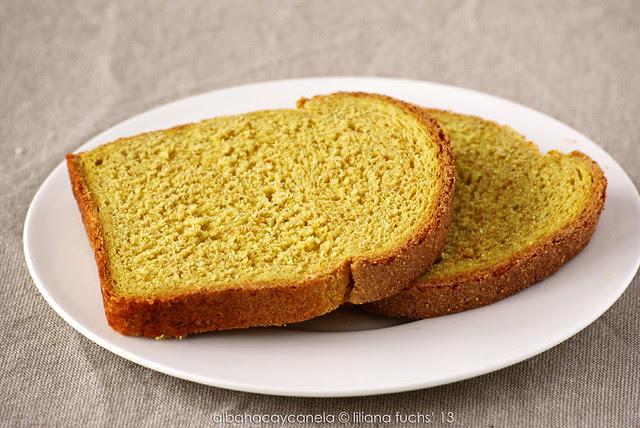 Whole wheat and corn bread