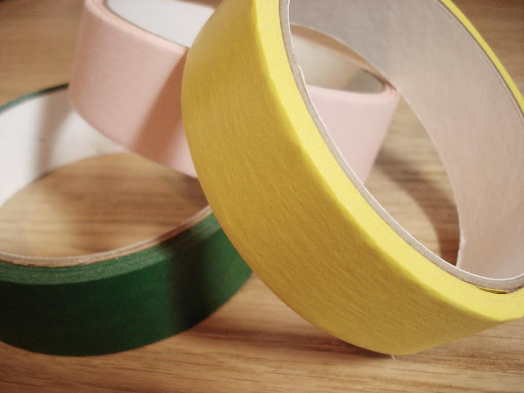 masking tape...
