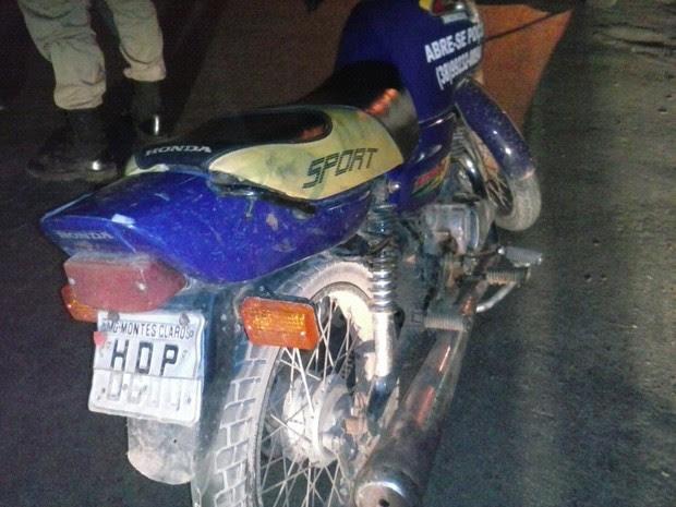 Veículo foi apreendido (Foto: Polícia Militar/ Divulgação)