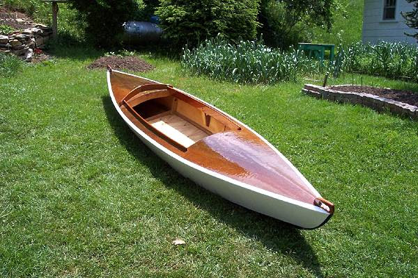 Here is my CanYak This was the first boat I built justafter getting