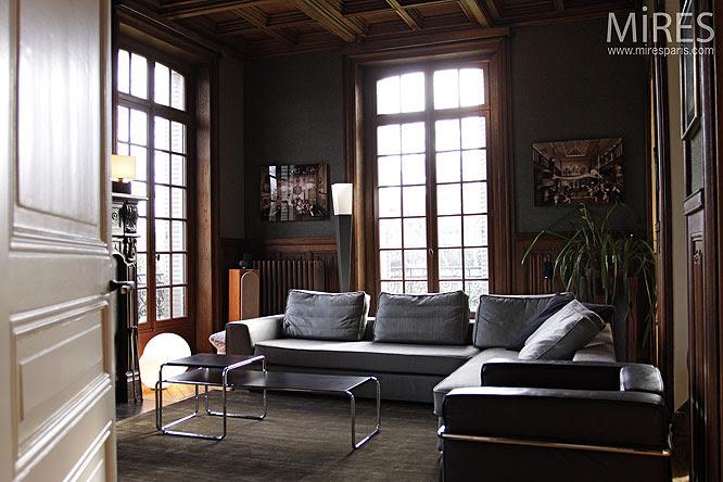 Boiseries et cheminée. C0202 | Mires Paris