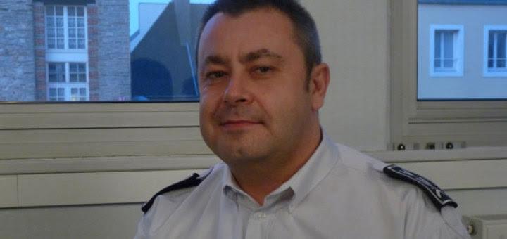 El comisario francés asesinado, HÉROE DE LA HUMANIDAD.