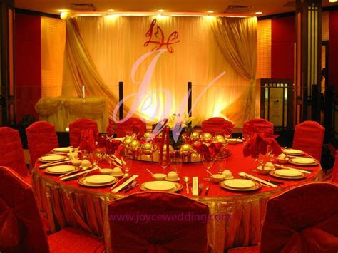 #Red and #Gold Wedding #Decoration   Gold weddings