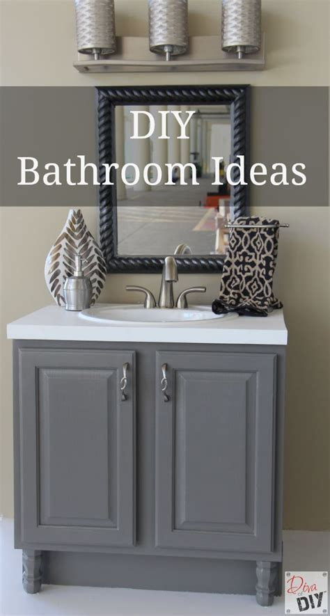 diy bathroom ideas   quick  easy  diva  diy