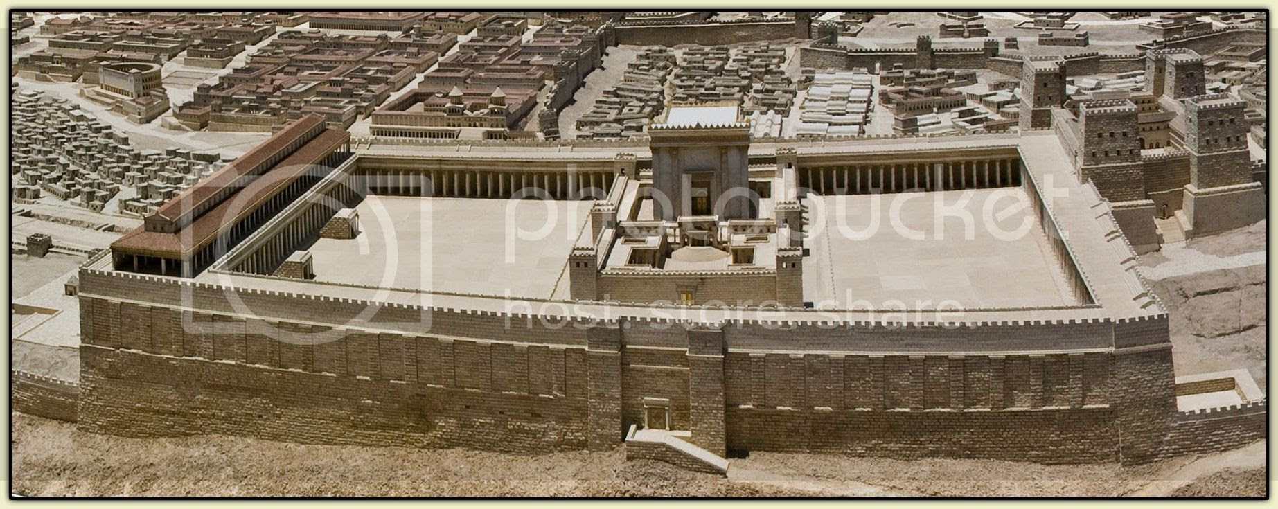 Temple Mount Model