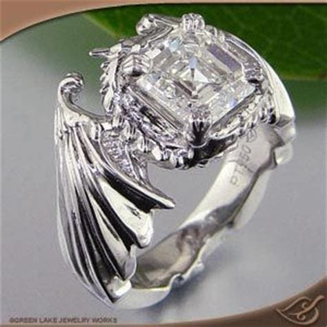 10 Best images about Dragon wedding rings on Pinterest