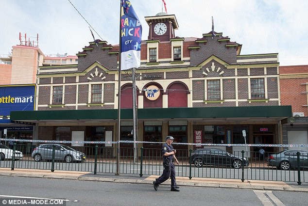 Noel Whelan has been staying at the Maroubra Junction Hotel for a few months and was shocked when he was ushered out and into the street this afternoon