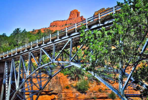 Sedona Landmark Midgley Bridge