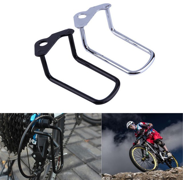 1X Cycling Bike Metal Bicycle Rear Gear Derailleur Chain Stay Guard Protector