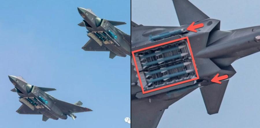 Η Κίνα παρουσίασε τα νέα μαχητικά πέμπτης γενίας J 20