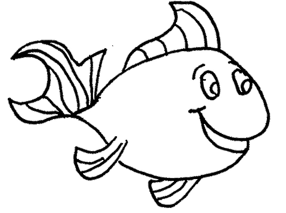 Fish Drawing For 4 Year Old