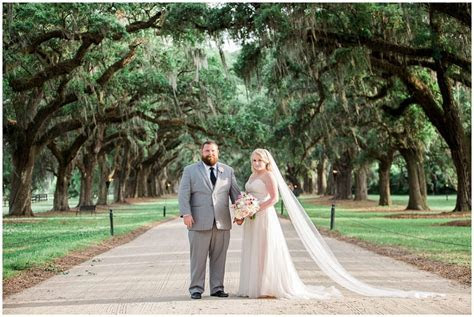 Boone Hall plantation wedding of Caitlin and Brad