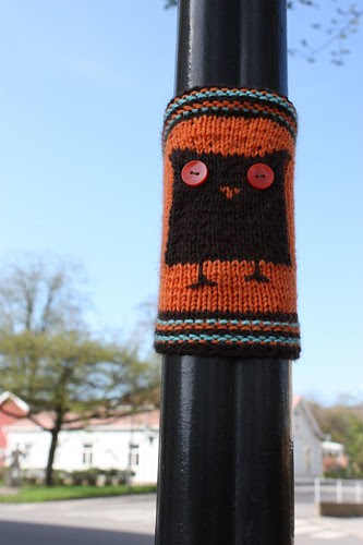 Knit graffiti - lintubongari 1