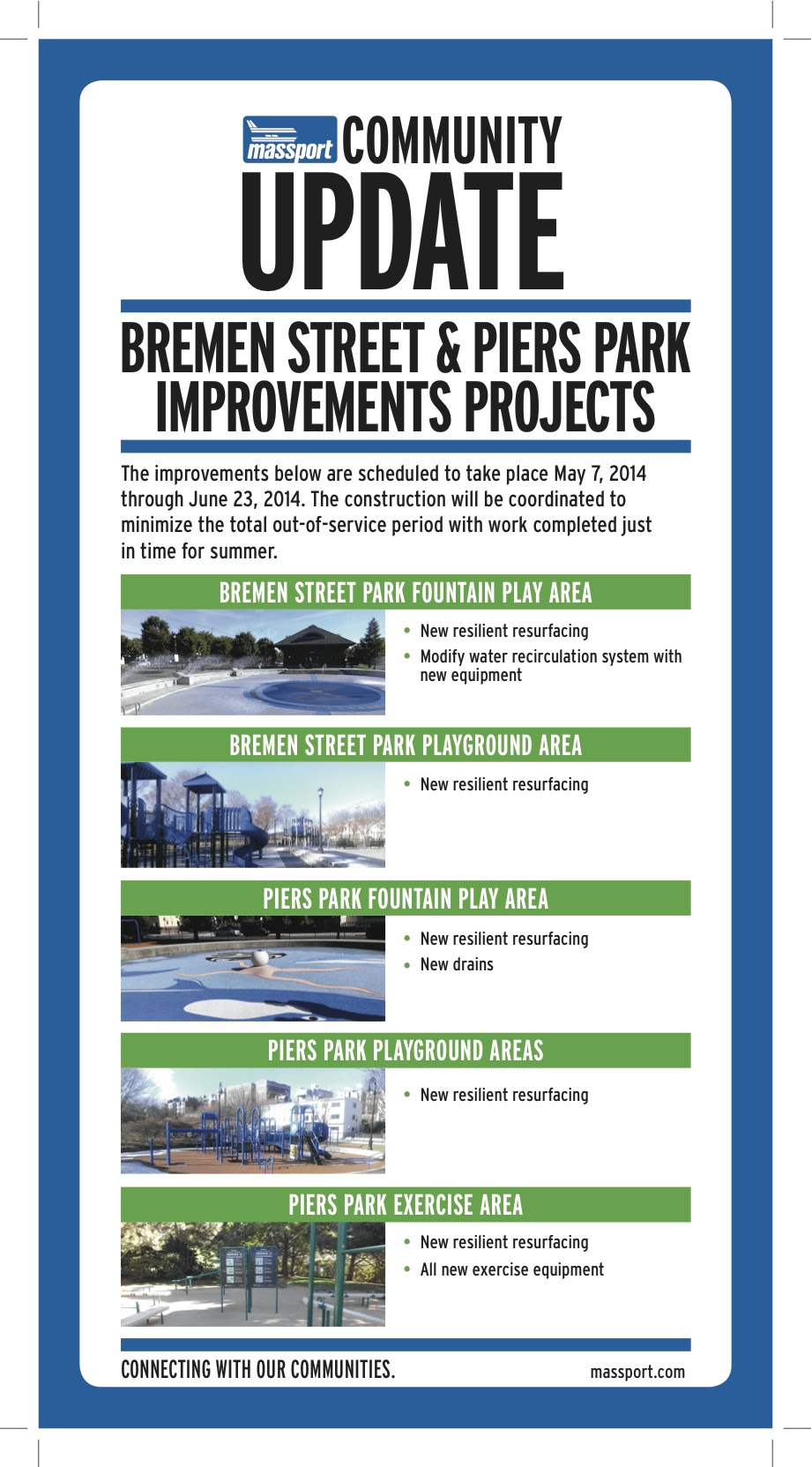 Community Update Improvements to Bremen Street East Boston