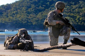 First US Marines for Darwin assignment arrive in April.