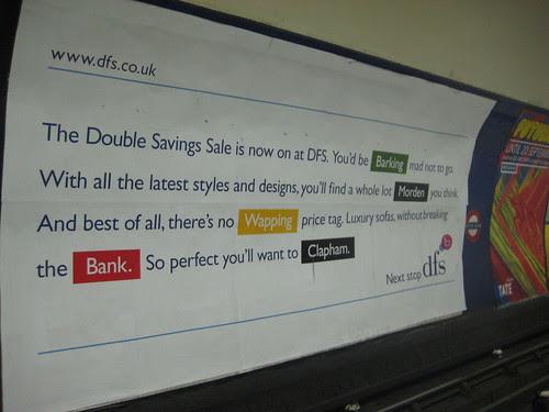 DFS Tube Ad