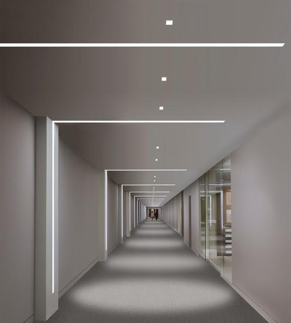 Hallway Lighting Gallery - contemporary - recessed lighting