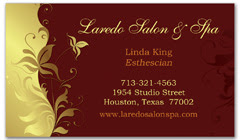 BCS-1019 - salon business card