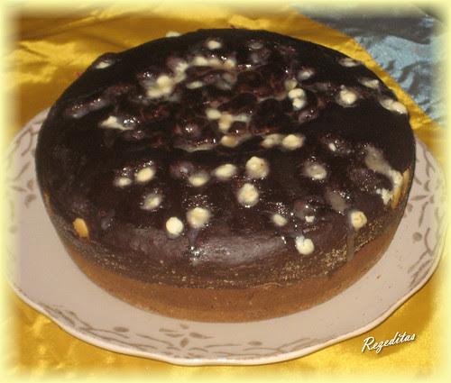 BIZCOCHO DE CHOCOLATE (SIN HUEVO)
