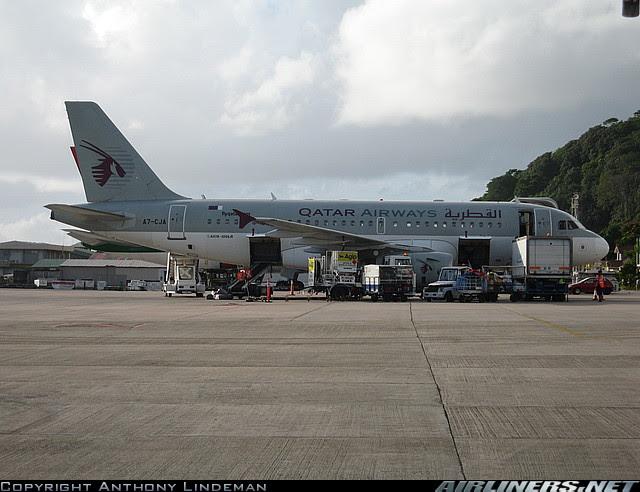 Qatar Airways in Mahé