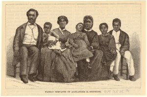 Family servants of Alexander H. Stephens.